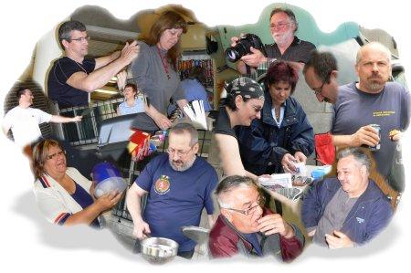 Nos bénévoles en action