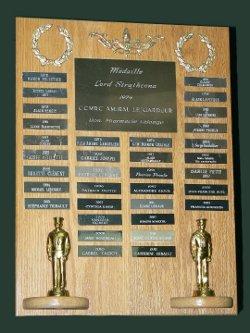 Trophée de la succursale pour la médaille Lord Strathcona